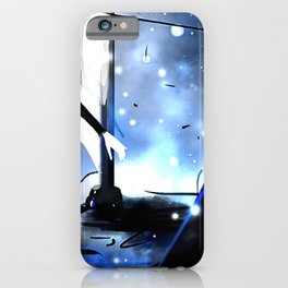 Yin Darker than Black iPhone Case