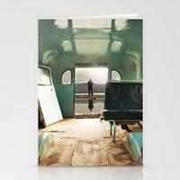 door Stationery Cards featuring Emergency Door by Rachel Bellinsky