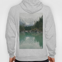 Turquoise lake - Landscape and Nature Photography Hoody