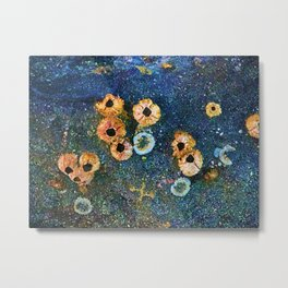 Abstract beautiful barnacles Metal Print