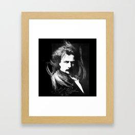 Polish Lion - Ignacy Jan Paderewski Framed Art Print