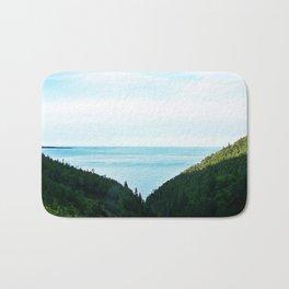 Seaside Mountain Crevasse Bath Mat