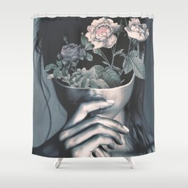 inner garden Shower Curtain