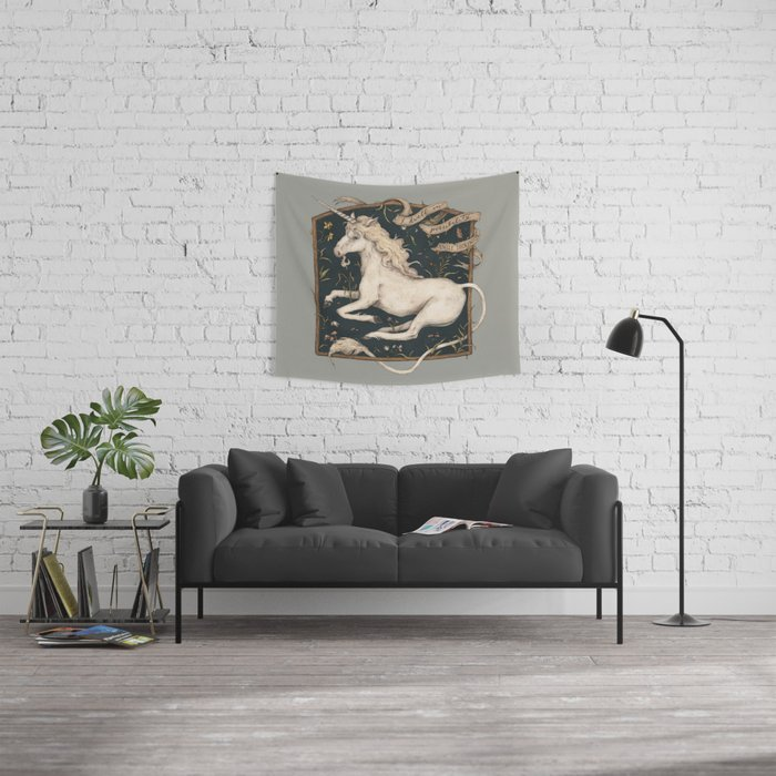 I Dwell in Possibility Wall Tapestry