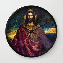 THE LIGHT OF THE WORLD Wall Clock