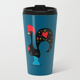 Good Luck Rooster Travel Mug