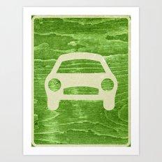 Road Hog Art Print