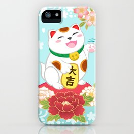 Maneki Neko iPhone Case