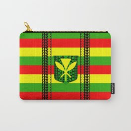 Tribal Kanaka Maoli Carry-All Pouch