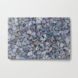 gravel as gravel background Metal Print