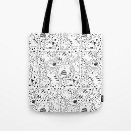 Kitty Boy Tote Bag