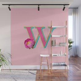 BOLD W Wall Mural