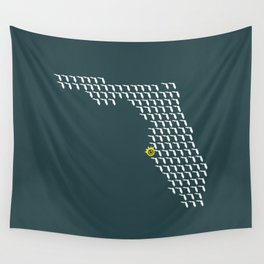 The Sunshine City - I Love the Burg Wall Tapestry