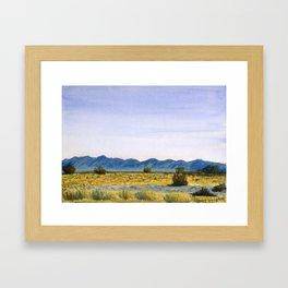 I-10, Mojave Desert Framed Art Print