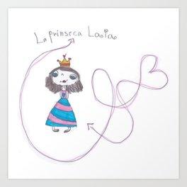 princesa laia Art Print