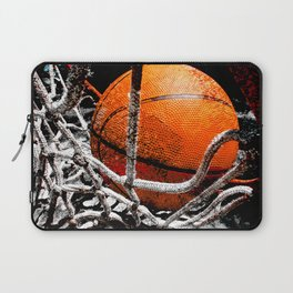 Basketball bounce version 1 Laptop Sleeve