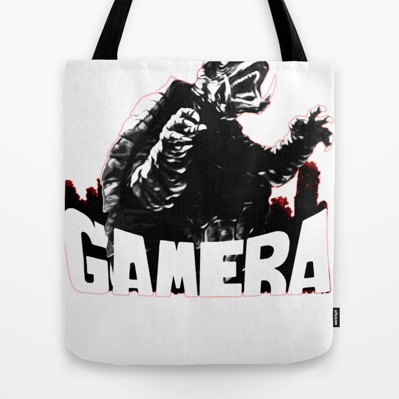 Gamera ?����ǣ Guardian Of The Universe Tote Bag by Thanart TBG8965769