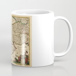 Map of the Middle East (1666) Coffee Mug