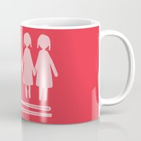 equality Mugs featuring Equality Love by MaJoBV