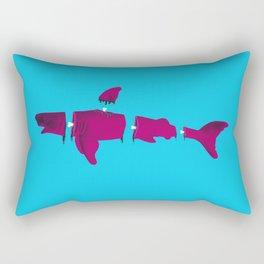 Shark bait Rectangular Pillow