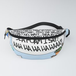 Daddy's Home Mom Goes Nuts Decorating Fanny Pack