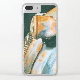 Rusty Car Clear iPhone Case