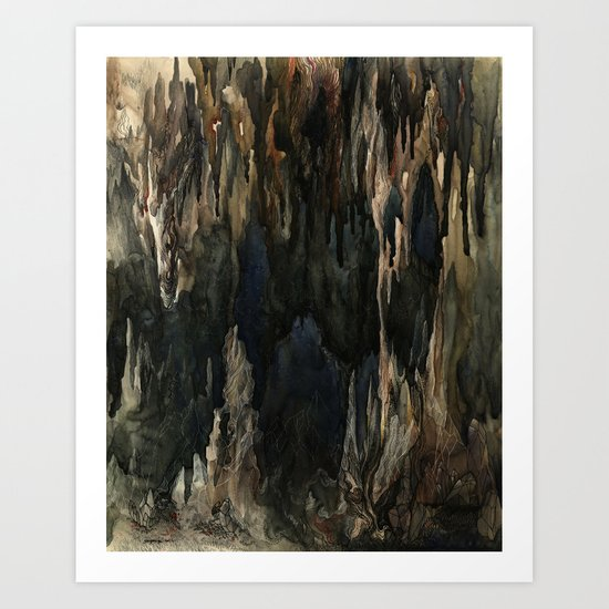 A Good Place To Hide Things Art Print