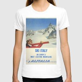 Vintage poster - Ski Italy T-shirt