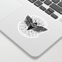 deaths head moth Sticker