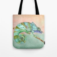 karma Tote Bags featuring Karma by Catherine Holcombe