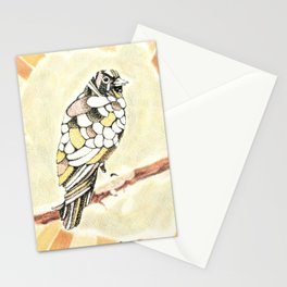Canary in a Cathouse Stationery Cards