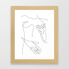 Sensual Erotic Framed Art Print