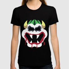 Joke's On You Bowser Womens Fitted Tee Black SMALL
