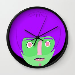 Witchy  Wall Clock