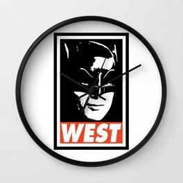 WEST Wall Clock