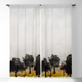 Group of Trees Blackout Curtain