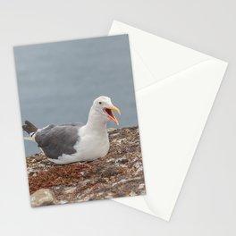 Noisy Gulls Stationery Cards