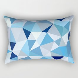 Triangular  low poly, mosaic pattern background, Vector polygonal illustration graphic, Creative, Or Rectangular Pillow
