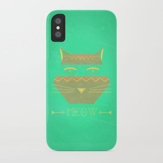 almost in cognito meow iPhone Case