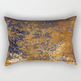 Rusted and Scratched Rectangular Pillow