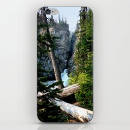 Small waterfall at the corner iPhone Skin