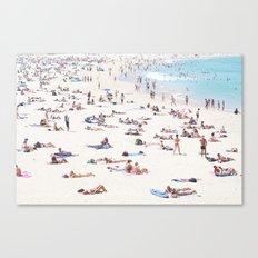 Bondi on a 40 Degree day Canvas Print