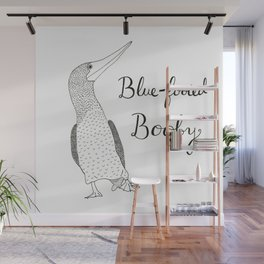 Blue-footed Booby Wall Mural