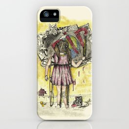In debt to Earth. iPhone Case
