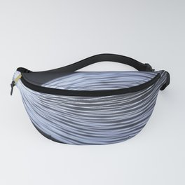 Twisted glowing fiber Fanny Pack
