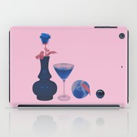 cocktail iPad Cases featuring Cocktail by Rhianna Ellington