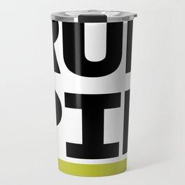 RUN PIP Travel Mug