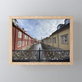 Västerås, Sweden  Framed Mini Art Print