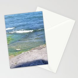 Algae and rocks Stationery Cards