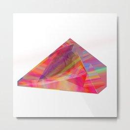 piramide Metal Print